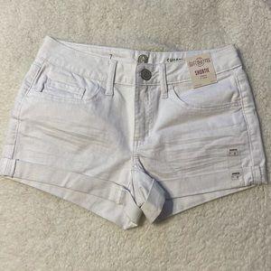 White Shorts NWT